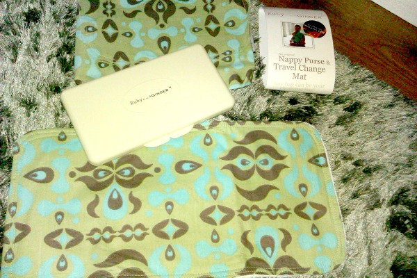 Ruby and Ginger Nappy Purse and Changing Mat Review