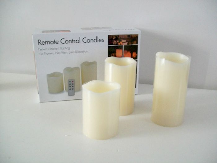 remote control candle review 3 pack