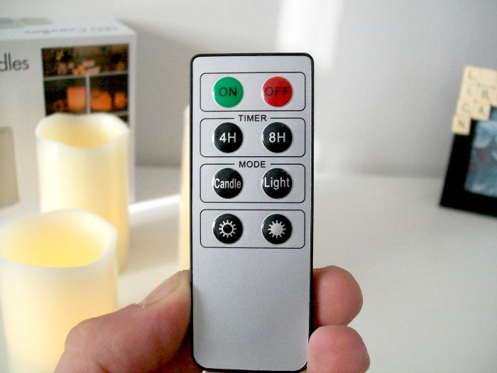 remote control candle review the remote