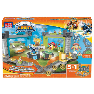 SKYLANDERS GIANTS MEGA BLOKS 5 in 1