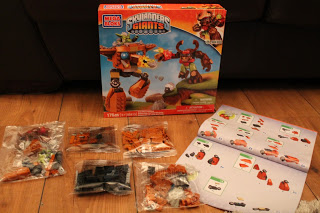 SKYLANDERS GIANTS MEGA BLOKS instructions