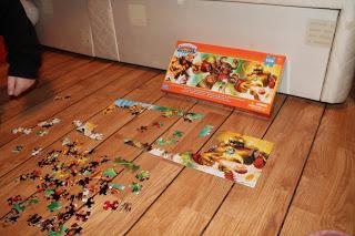 SKYLANDERS GIANTS MEGA BLOKS puzzle