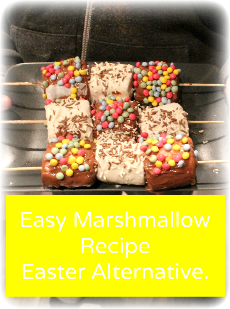 Easy Marshmallow Recipe - Easter Egg Alternative