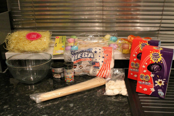 Easy Marshmallow recipe Ingredients