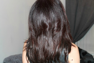 Halo Hair Extensions transformation rear view