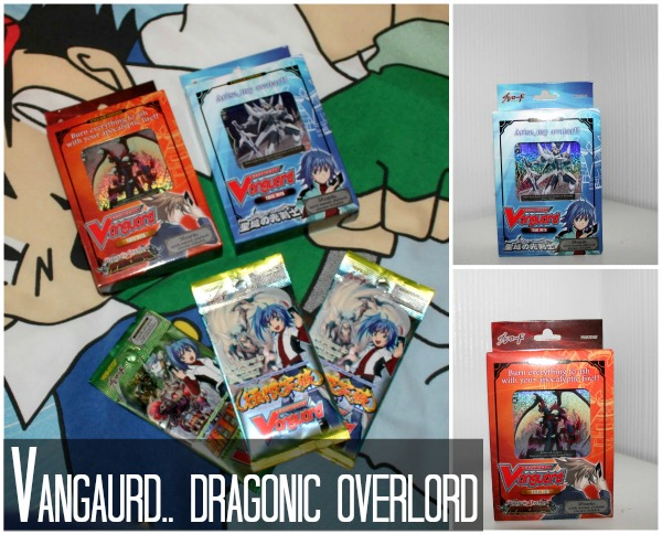 Trading Card Games - VanGuard Dragon Overlord Review Decks