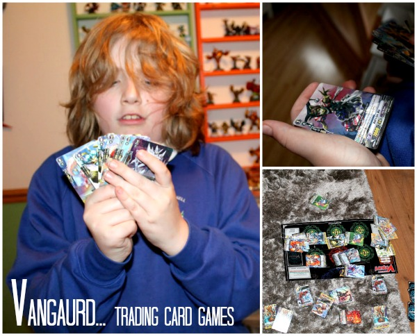 Vanguard Trading card games dragon overlord