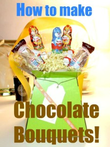 How to make Easy Homemade Chocolate Bouquet