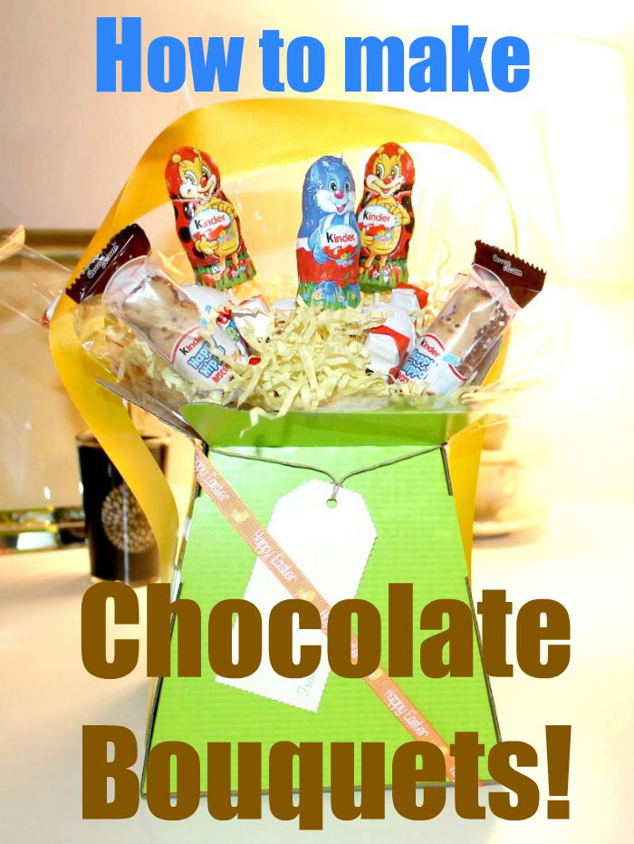 how to make chocolate bouquets