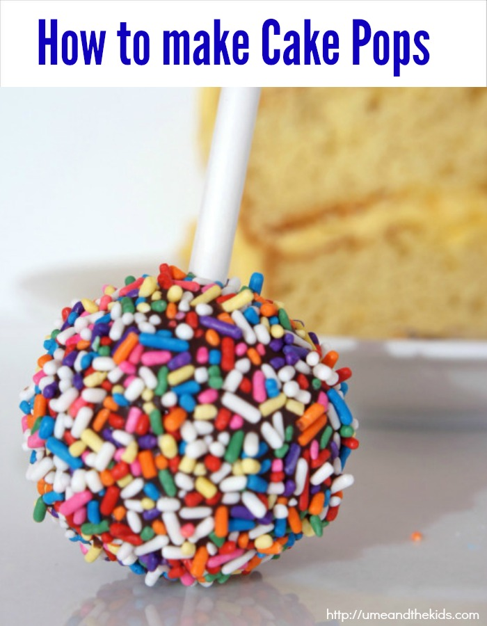 How to make Cake Pops  Easy Recipe