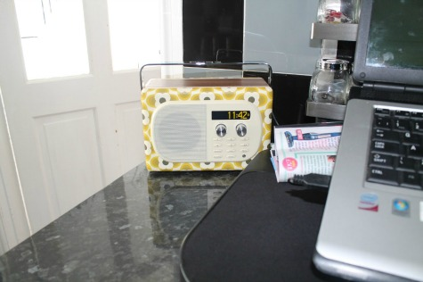 Pure Evoke Mio DAB Radio, Orla Kiely Buttercup Edition