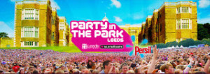 The Party Park 2012 Leeds Back/Front stage Pictures