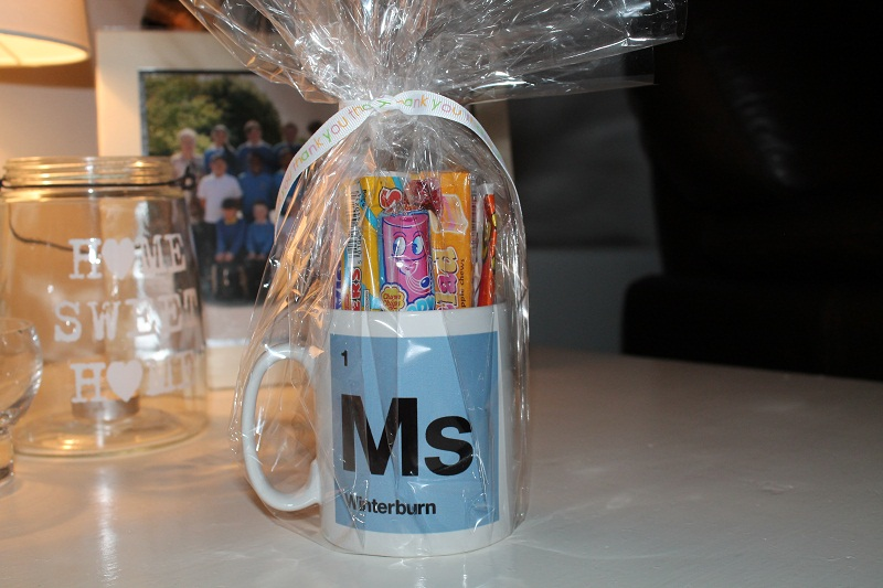 Thank you Gifts for Teachers - Mug Filled with Sweets