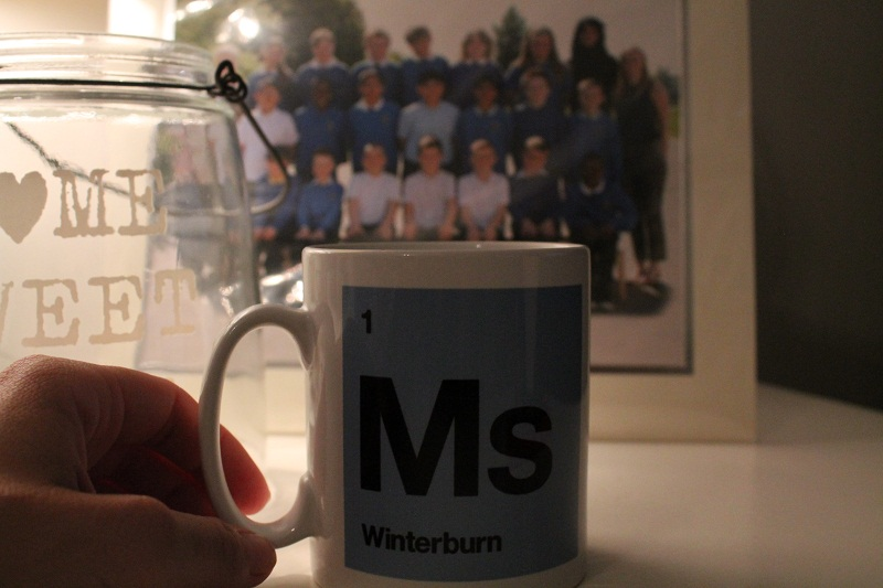 Thank you Gifts for Teachers - MS mug