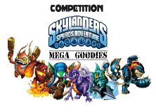 Skylanders Win mega goodies Free competition UK and US