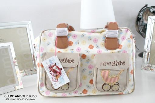 Designer Mama et bebe Baby Changing bag