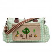 mama et bebe baby changing bag by Pink Lining - Green
