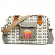 mama et bebe baby changing bag by Pink Lining - Grey
