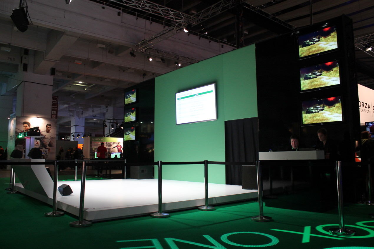 xbox one at eurogamer