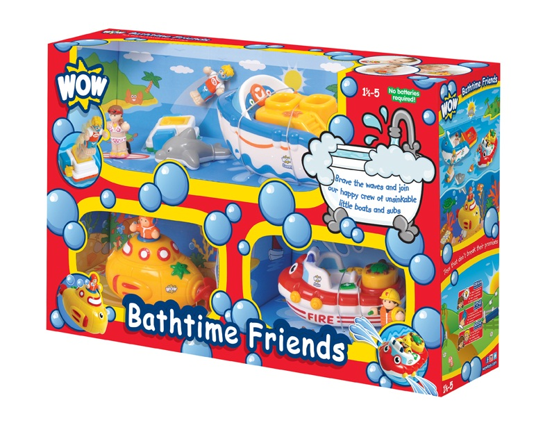 Win WoW Toys Bathtime Friends Set - Christmas Competition