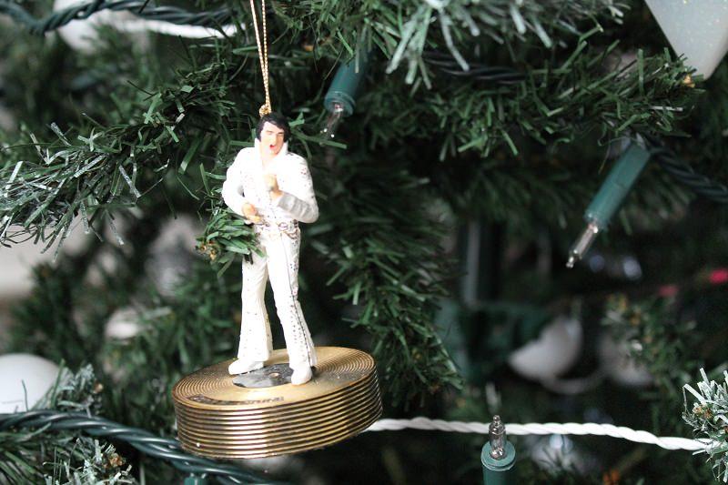 Man v's Christmas Tree