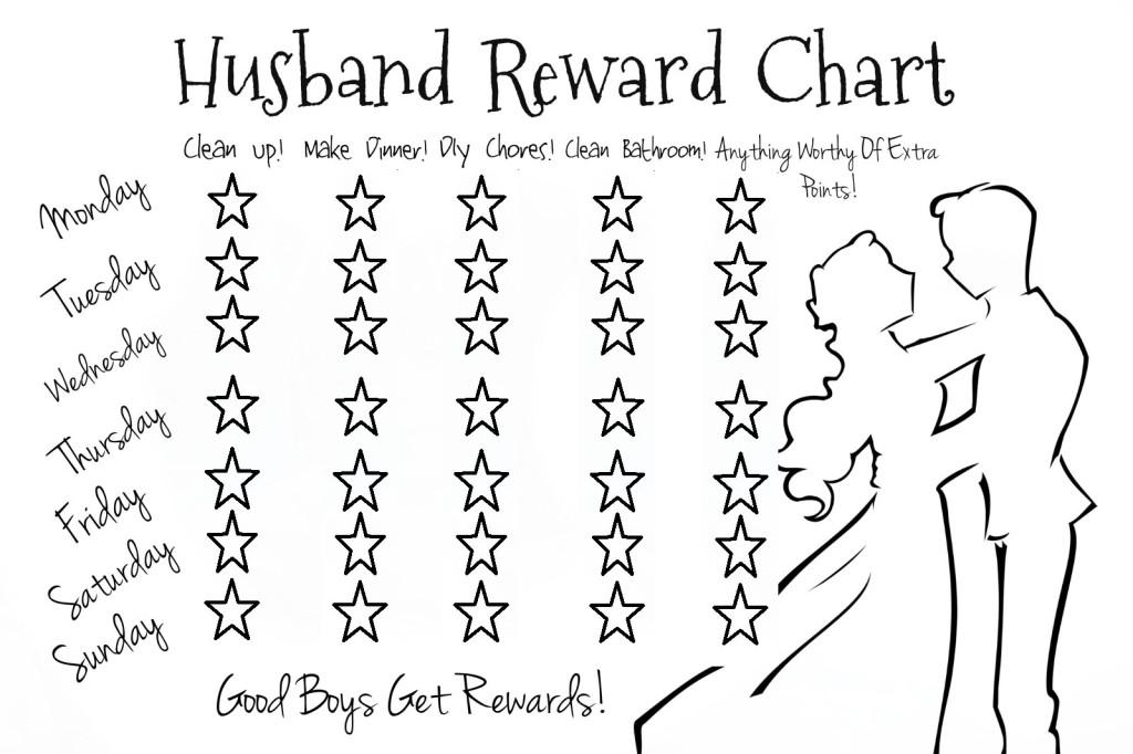 Husband Reward Chart