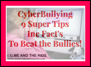 CyberBullying: (9 Super Tips Inc Fact's) To Beat the Bullies!