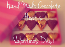 Make your own Homemade chocolate hearts