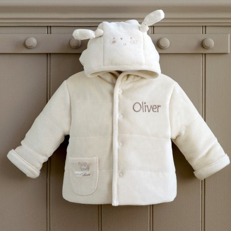 pl padded jacket 1000x1000 My 1ST Years: Pure Love Personalised Baby Padded Jacket