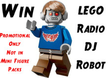 #Win a Promotional #Lego Movie Radio DJ Robot