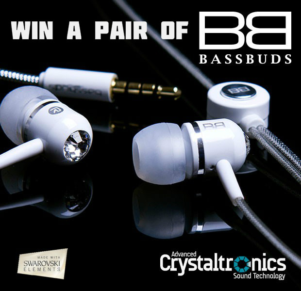 white 1 31 Win a pair of Classic BassBuds Headphones
