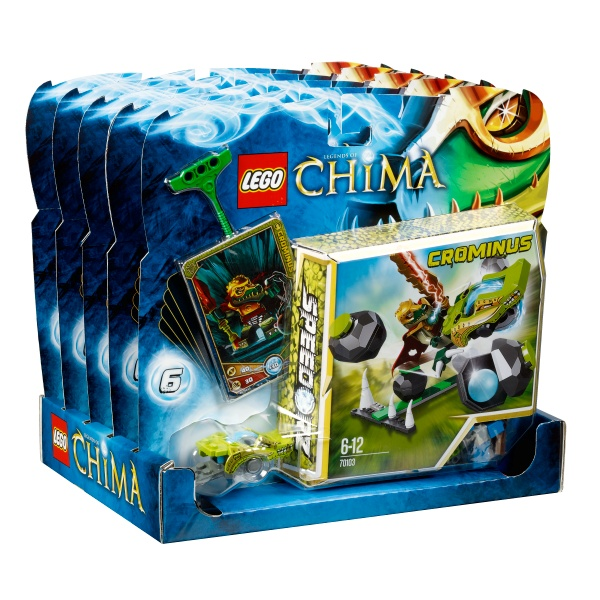 125936 L #Win Rare #Lego promo figure and CHIMA Crominus Lego set