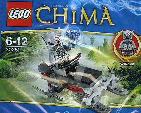 30251 LEGO Legends of Chima Polybag1 #Win Rare #Lego promo figure and CHIMA Crominus Lego set