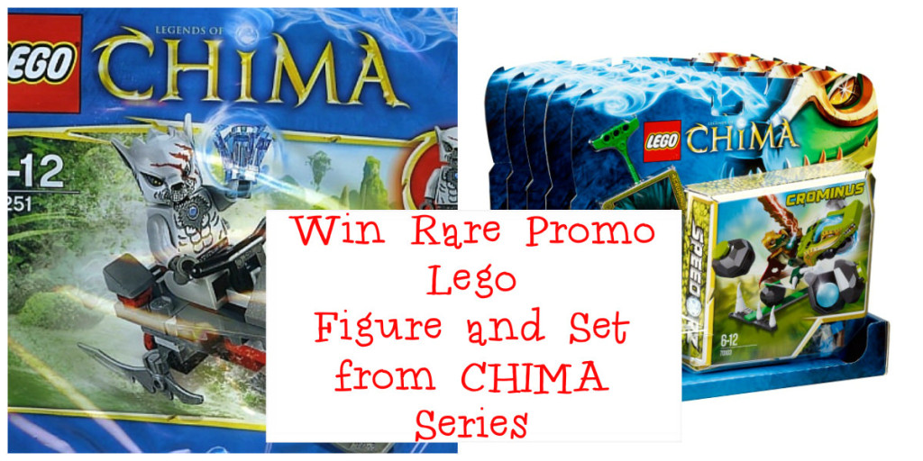 collage1 #Win Rare #Lego promo figure and CHIMA Crominus Lego set