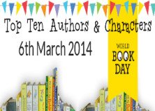 World Book Day Top Ten Authors and Characters 2014