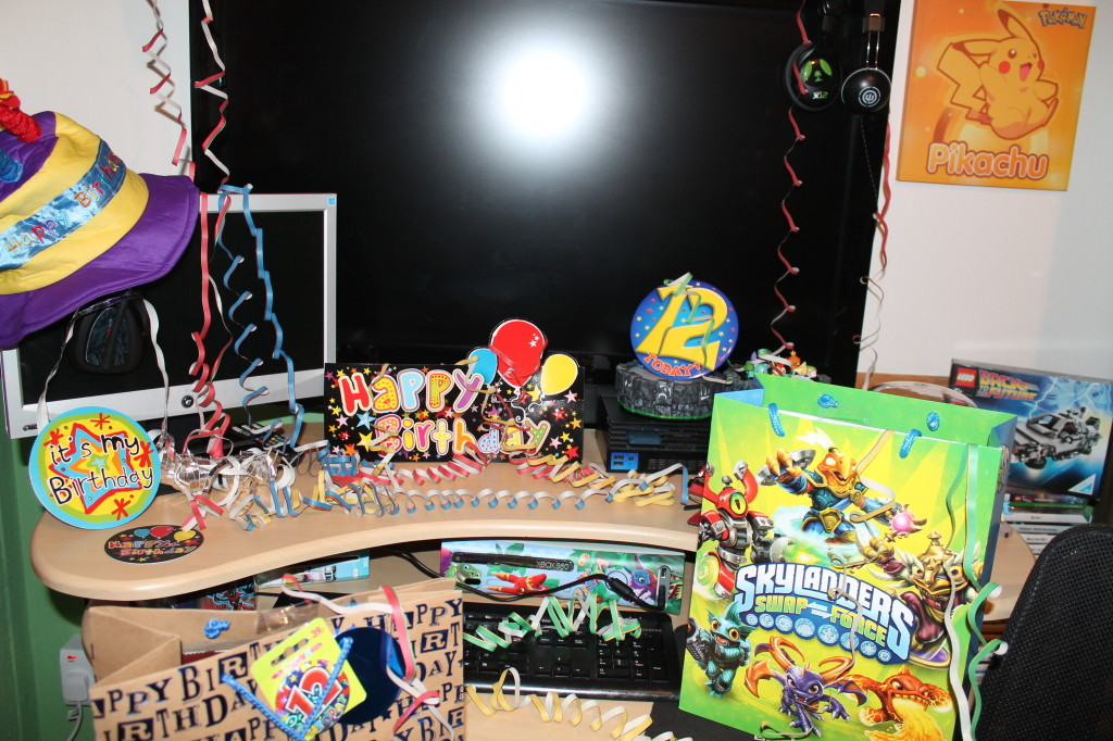 Amazing Skylanders birthday party