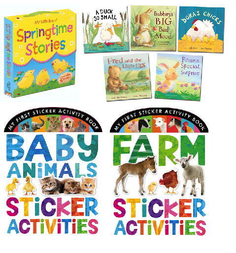 Springtime Kid's Books Giveaway