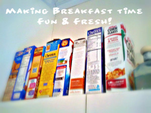 how to make breakfast fun