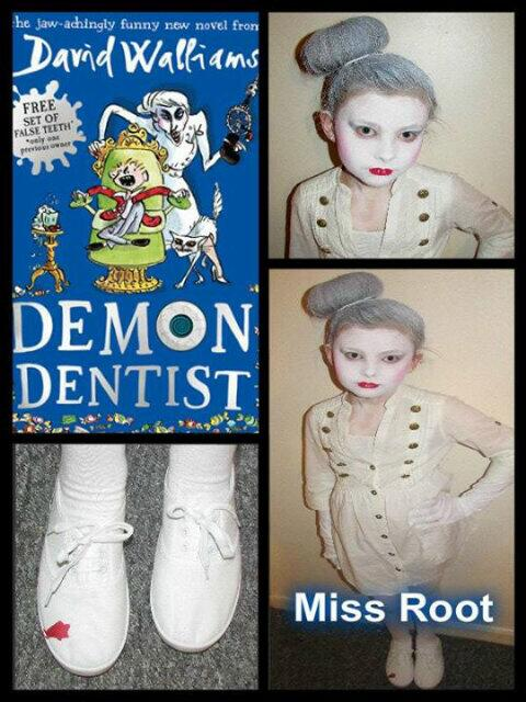 Bedtime Stories miss root child's costume