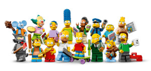 Simpsons Lego minifigures release date uk