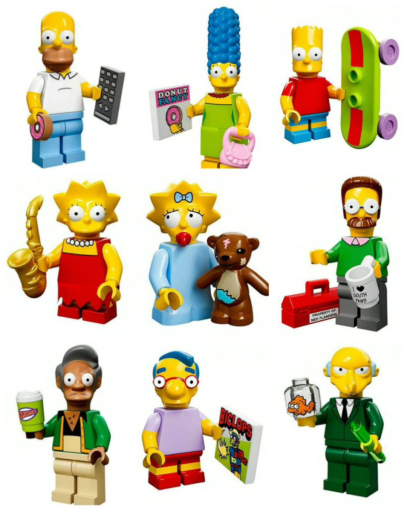 Simpsons Figuren