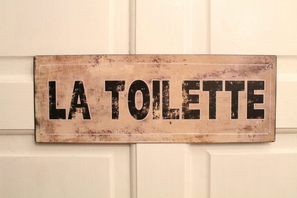 Home Decorating Ideas My Eclectic home decor Toilet Sign