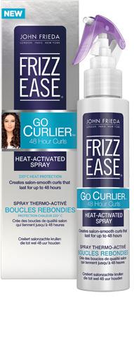 John Frieda Frizz Ease Rangec Go Curlier 48hr Curls Heat-Activated Spray