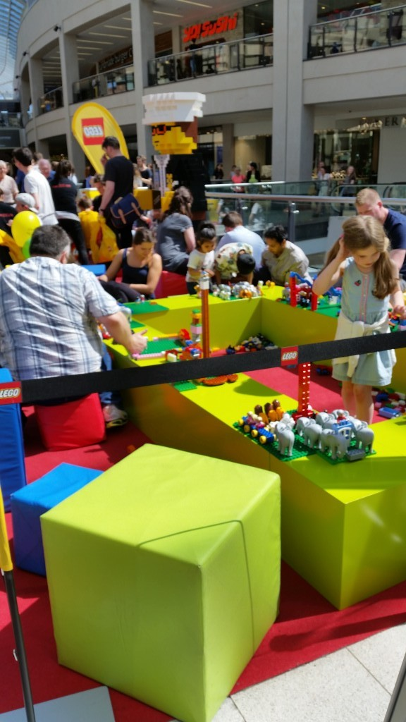 Places to go with kids: Lego Trinity Center Leeds 1st Birthday