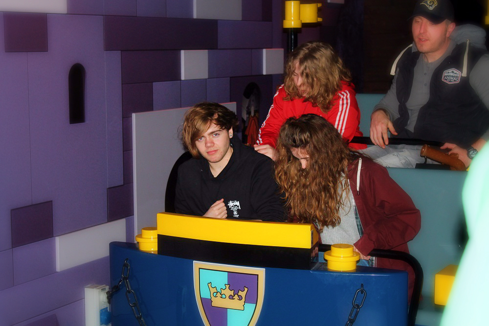 Places to go with kids: legoland manchester - The Kingdom Quest Laser Ride