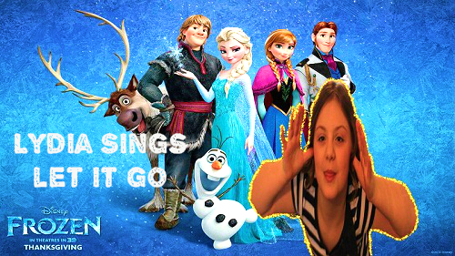 Frozen Let It Go - Performed by My Niece