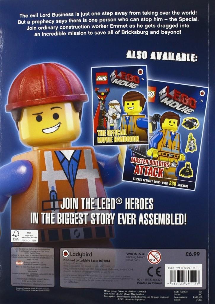 Lego Movie Promo Police Robot & Activity Book