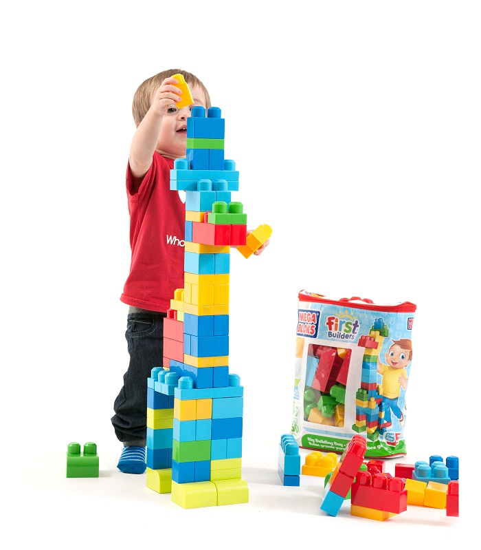 Win Mega Bloks First Builders Big Building Bag
