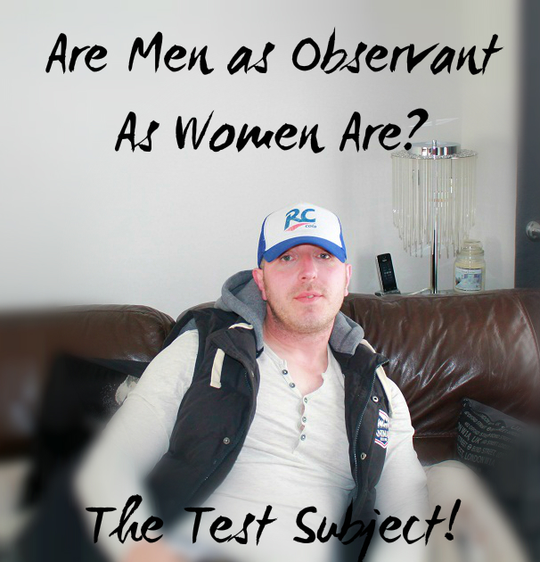 Are Men as observant