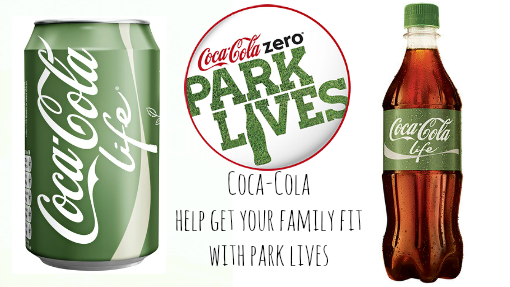 Coca-Cola launch 'Coca‑Cola Zero ParkLives'